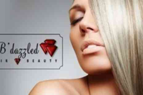 B'Dazzled Hair & Beauty - Half Head of Highlights With Cut and Finish - Save 64%