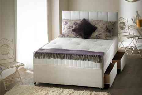 Beds and Mattress World - Divan Bed and Orthopaedic Mattress - Save 63%