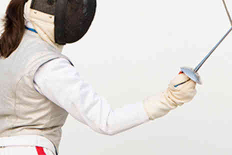 Central London Fencing Club - Two Hour Beginners Group Fencing Lesson - Save 53%