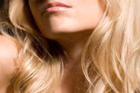 Gold Hair - Haircut and Finish with Full Head of Highlights for Ladies - Save 63%