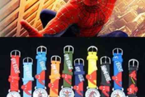 catwalk-glamour - Spiderman Kids Silicone Watch - Save 87%