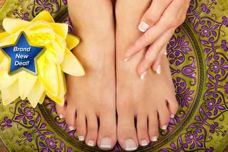 ANP Cosmetic Aesthetics - A gel manicure and gel toes - Save 75%