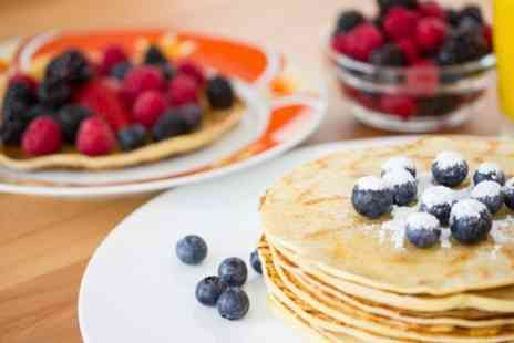 The Old Schoolhouse - American Pancake Breakfast For Two - Save 58%