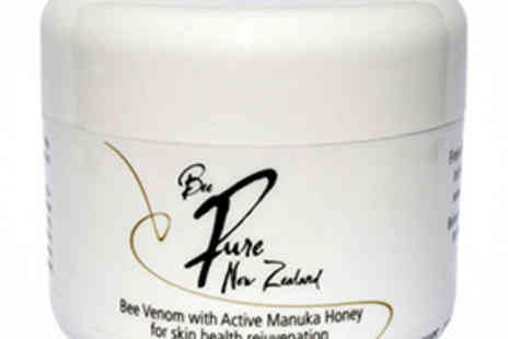 Infinitive Beauty - 100g Jar of Bee Pure NZ Bee Venom and Manuka Honey Face Cream - Save 57%