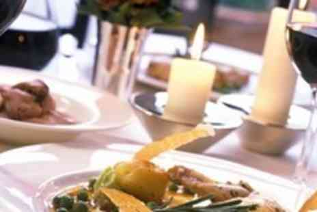 The Grosvenor Hotel - Two Courses of International Food For Two With Wine - Save 63%
