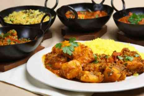 The Parvin - Two Course Indian Meal For Two - Save 68%