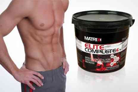 Matrix - Matrix Elite Complete All in One Protein Powder 2.25kg - Save 55%