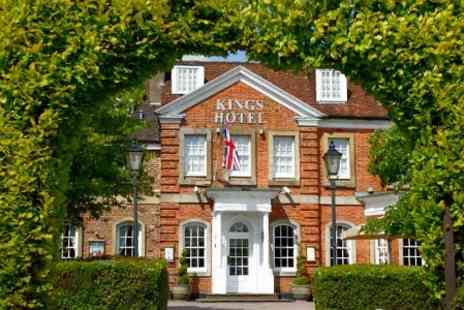 The Kings Hotel - One Night Stay For Two With Breakfast - Save 61%