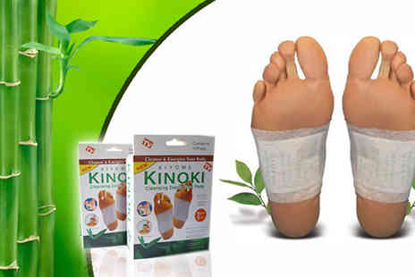 UKCJS - Body with these detoxifying foot patches - Save 71%