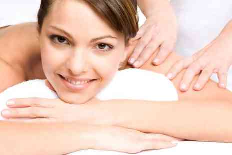 Sara Salon - Full body massage, head massage and facial - Save 74%