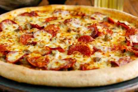 Papa Johns - One large pizzas - Save 54%