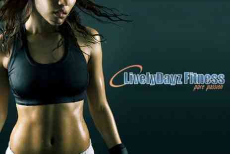 LivelyDayz Fitness - Skinny Minnie Fitness Package for £35 - Save 87%