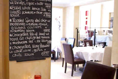 Nuovo Brasserie - Six Course Meal from Tasting Menu with Champagne and Canapes for Two People - Save 58%