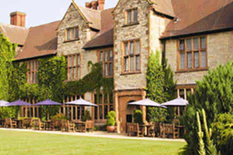 Puma Billesley Manor Hotel - One Night Stratford upon Avon Stay for Two - Save 50%