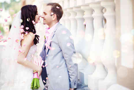 Digital Weddings -  Eight hour wedding photography package including 300 images  - Save 50%