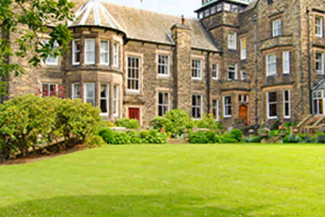 Makeney Hall Hotel - Overnight Derbyshire Hotel Stay for Two People with Bottle of Wine - Save 50%