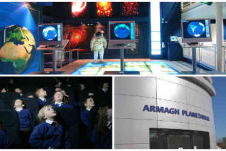 Armagh Planetarium - Armagh Planetarium Admission and Space Shows for Family of 5 - Save 50%