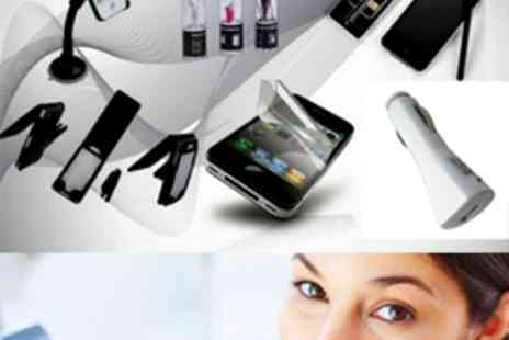 Simply Live - iPhone 4 and4S All in One Accessory Kit - Save 55%