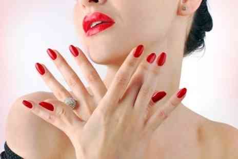 Gloss and Glow - Shellac Manicure or Pedicure or Both - Save 55%