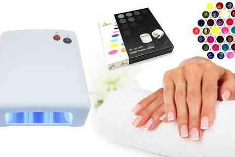 Tanning and Beauty World - Gel UV Nail Lamp - Save 50%