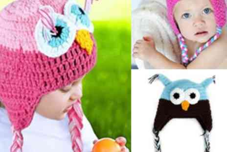 Simply Live - Baby Owl Beanie Hat - Save 50%