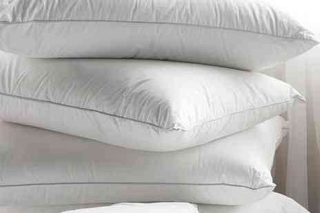 Better Bargains - Two duck feather pillows - Save 59%