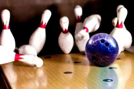 Genesis Family Entertainment Centre - Two Bowling Games With Pizza and Drinks For Two - Save 59%