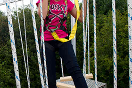 The Edge Outdoor - High Ropes Adventure for One People - Save 60%