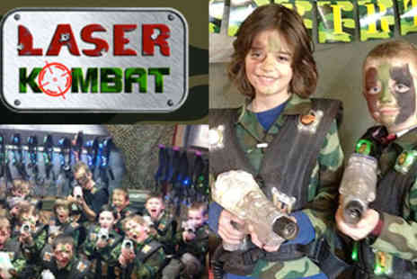 Laser Kombat - Exciting New Laser Tag Game A, Perfect Gift for Father's Day for all the Family to Enjoy - Save 72%