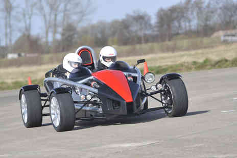 Driving Sensation - Ariel Atom passenger ride experience - Save 48%