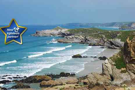 Sandy Lodge Hotel - Two night stay for two in Newquay - Save 34%