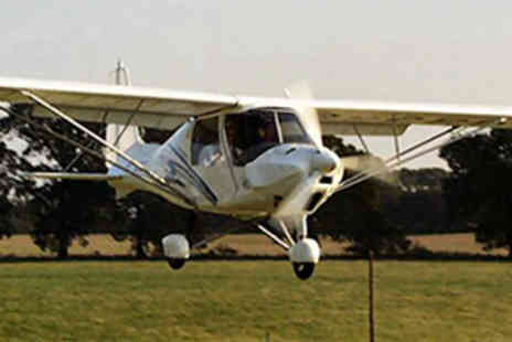 G S Aviation - Microlight Flying Lesson - Save 50%