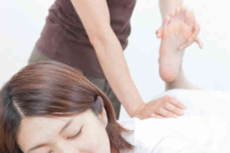 The One Thai Massage - Hour Long Thai Swedish or Aromatherapy Massage for One - Save 53%