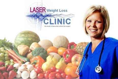 Laser Weight Loss Clinic - £97 Full Body MOT, including Food Intolerance Test, Full Health Check, and Laser Lipo Session - Save 76%