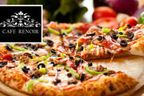 Cafe Renoir - Pizza and Sharing Platter for two - Save 53%