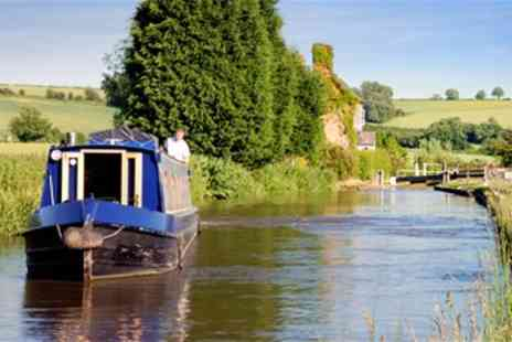 Burscough Boat Hire - Summer Canal Cruise including Afternoon Tea - Save 50%