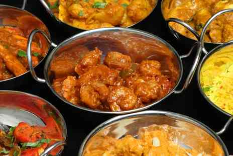 Royal Saffron - 2 Course Indian Meal for 2 - Save 73%