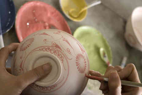 The Ceramic Experience - Ceramic decorating experience for two - Save 60%