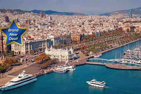 Viva Holidays - Three night sojourn in Barcelona - Save 41%