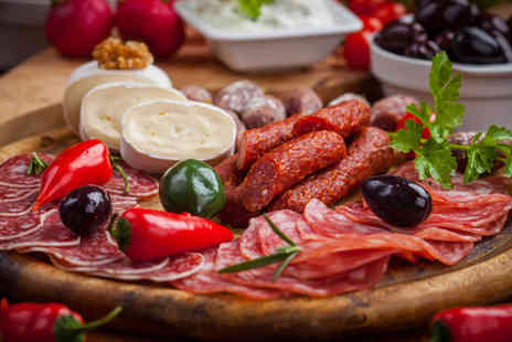 Six Soho - Sharing platter & bottle of red wine for two - Save 50%