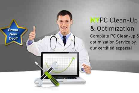 My Security Center - MyPC clean up and optimisation service - Save 76%