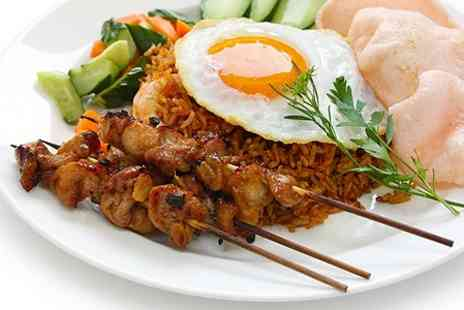Raffles - Three Course Malaysian Cuisine Meal For Two - Save 60%