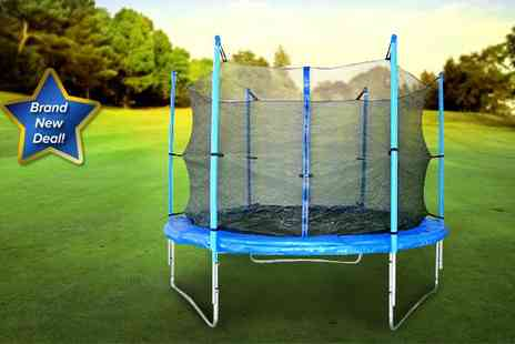 Guaranteed4less.com - 10 ft trampoline with safety enclosure - Save 21%
