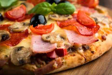 Roccos - Any Pizza Pasta or Burger Meal For Two - Save 52%