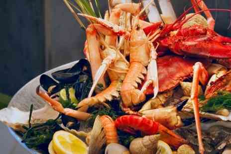 Hidden Treasure - Whole Lobster Seafood Sharing Platter For Two - Save 57%