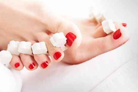 Body Needs - Express Facial Plus Foot Care Package With Polish and Massage - Save 39%