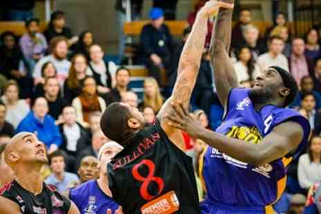 London Lions Basketball - Ten Games Season - Save 17%