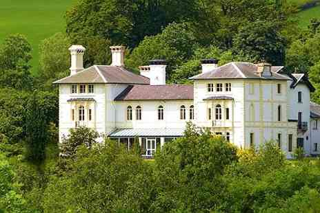 The Falcondale - One Night Stay For Two With Seven Course Tasting Menu and Prosecco - Save 51%
