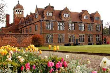 Castle Bromwich Hall Hotel - One Night Stay For Two With Garden Tickets - Save 11%