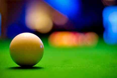 Spots & Stripes - Three Hours of Pool For Two With Two Pints Each - Save 83%